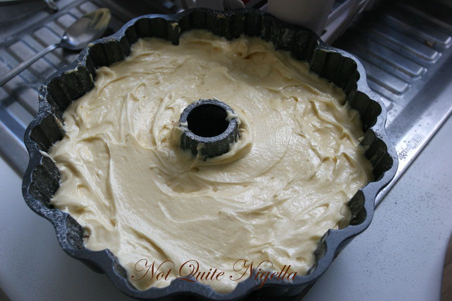 Cinnamon Sour Cream cake - Amy Sedaris