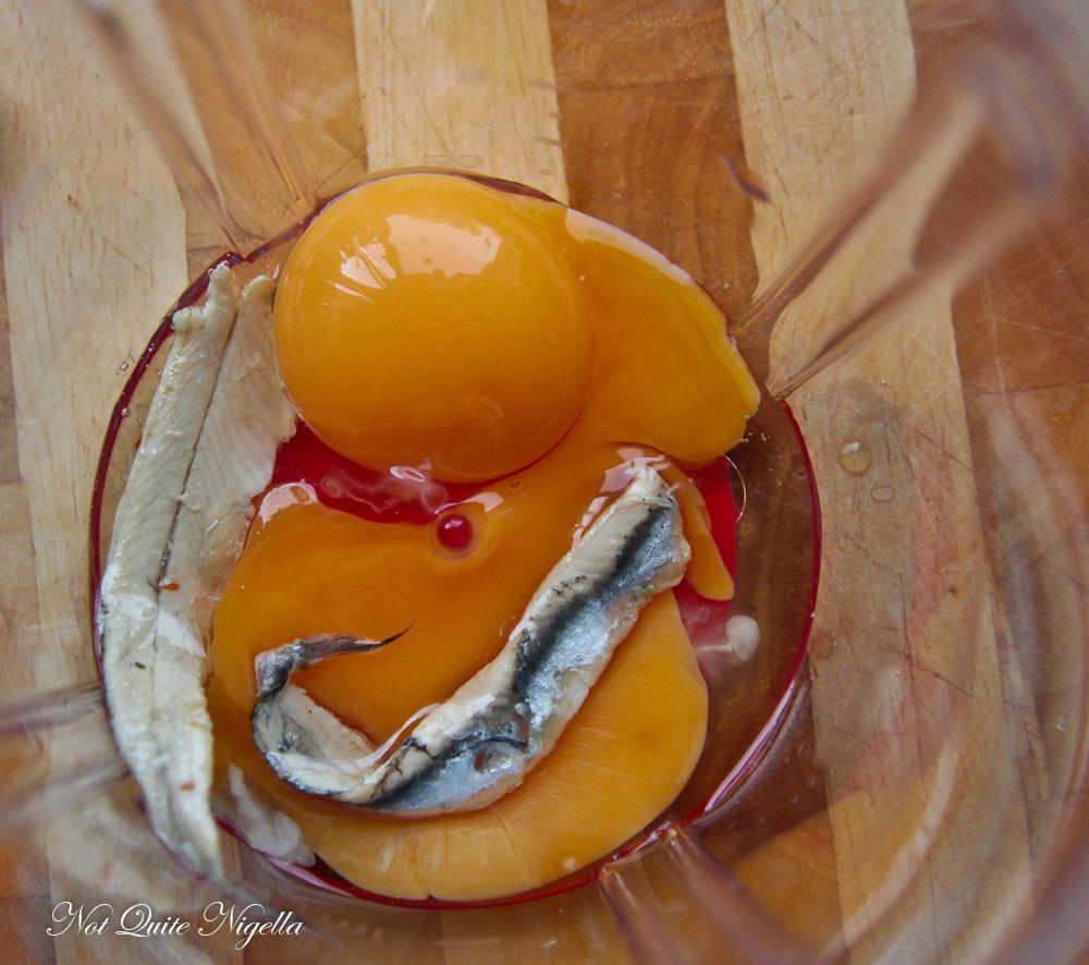 Garlic Anchovy Aioli