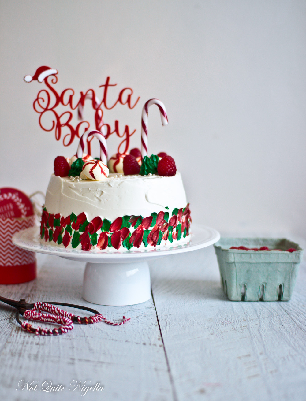 Angel Food Cake Christmas