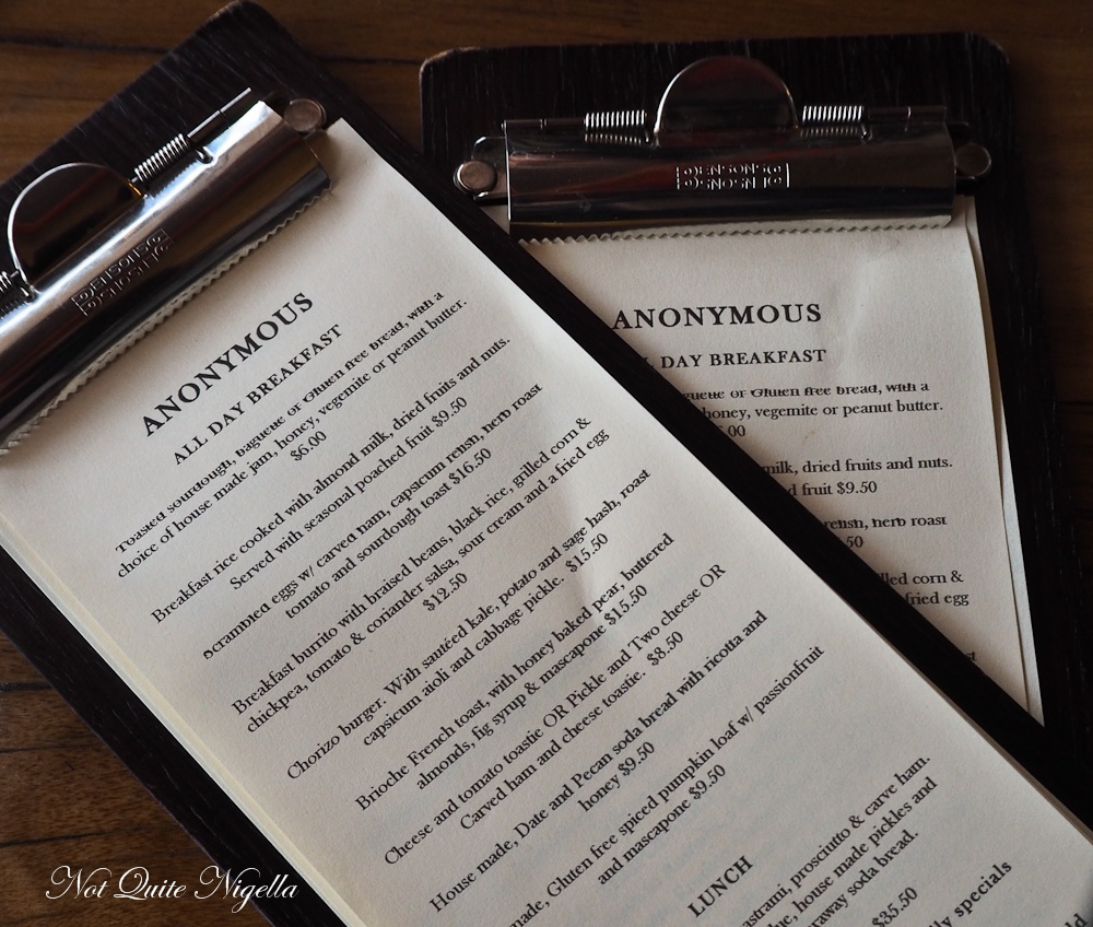 Anonymous Cafe