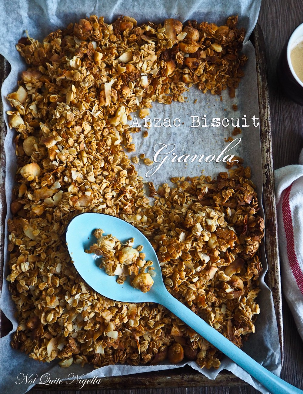 Anzac Biscuit Granola