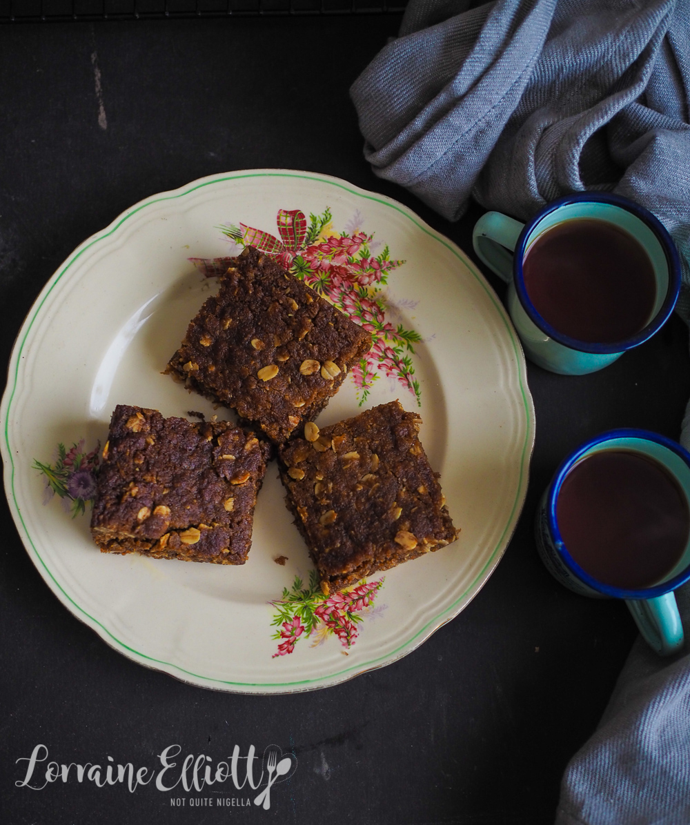Anzac Biscuit Slice