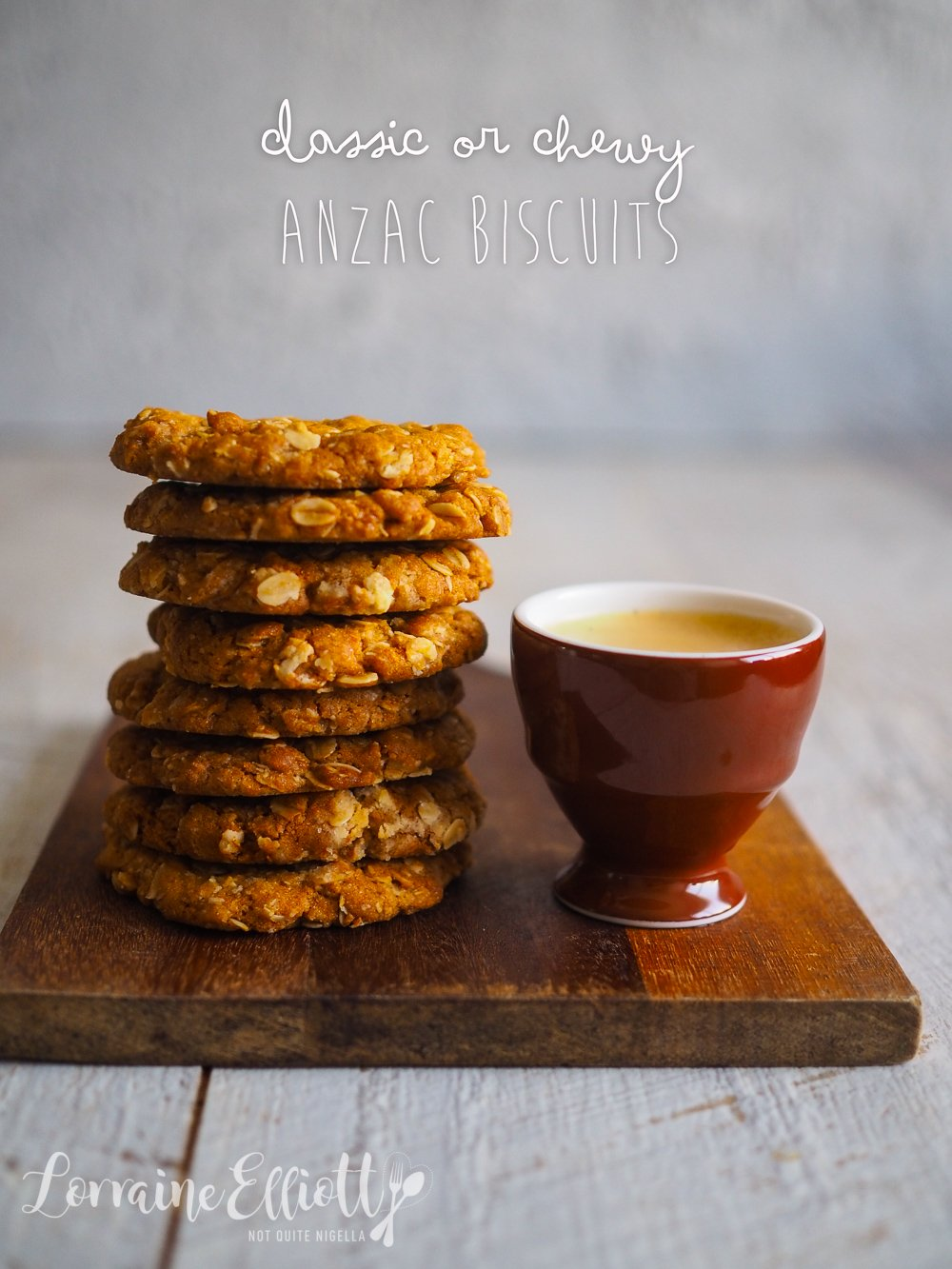 Anzac Biscuits Chewy Crunchy