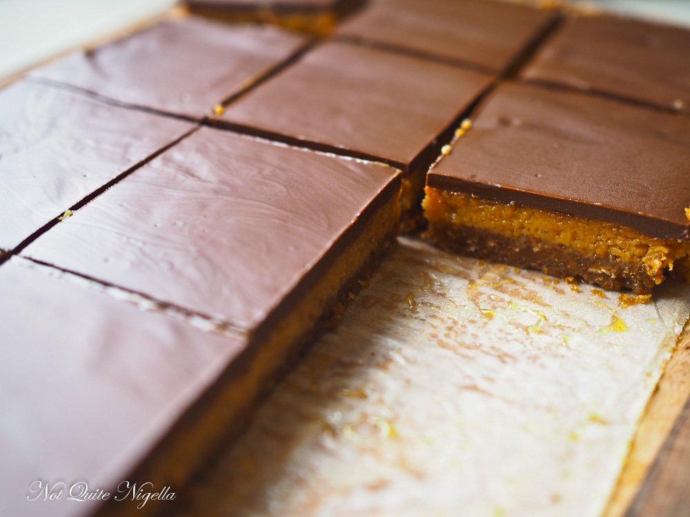 Anzac Biscuit Caramel Slice