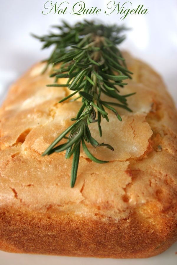 Recipe Anzac Day Rosemary Loaf Cake Not Quite Nigella