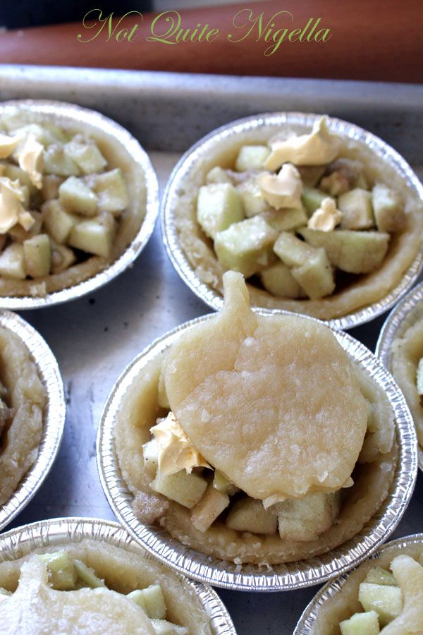 Apple and Maple Tartlets
