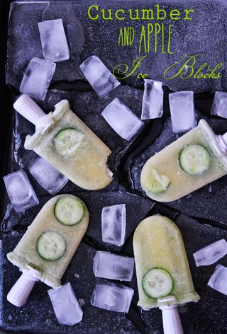 Cloudy Apple & Cool Cucumber Icy Pops