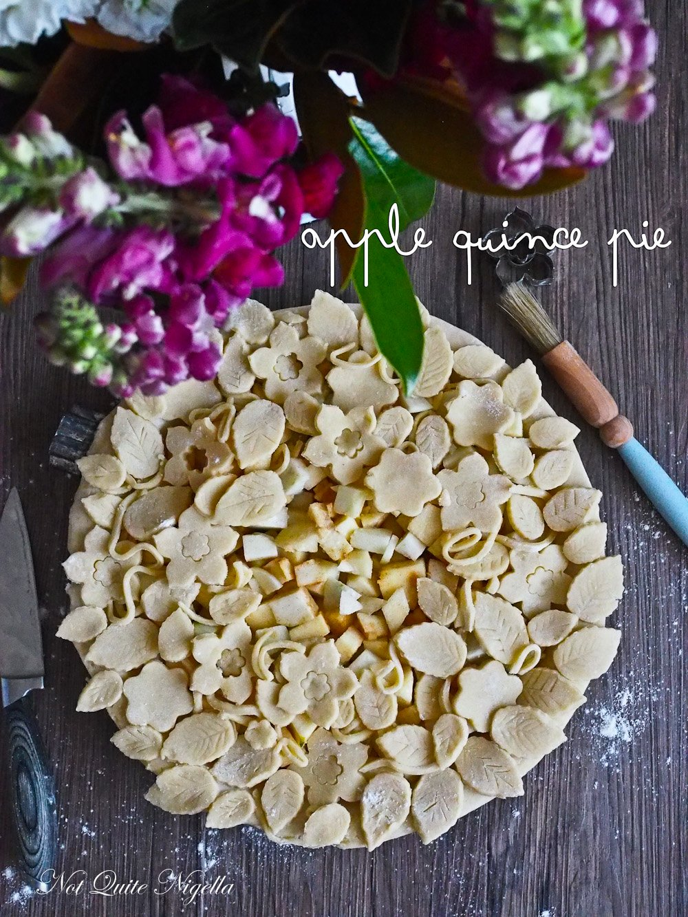 Apple Quince Pie Fancy Pastry