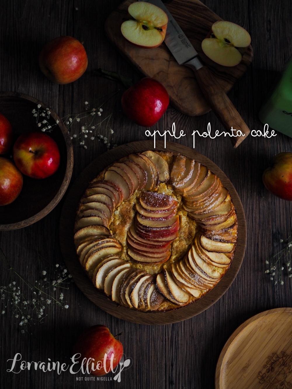 Apple Cake Gluten Free Lemon Polenta