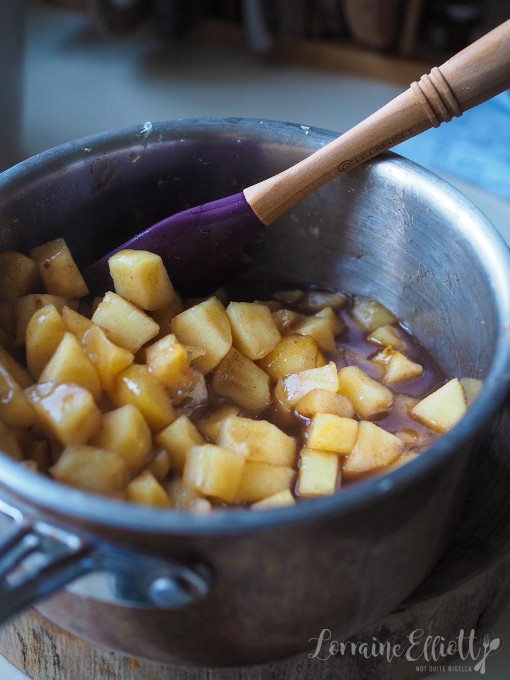 Apple Slice Shortbread Australian