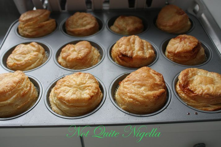 Apple Tarte Tatins, Home Made Butter Puff Pastry & a move East!
