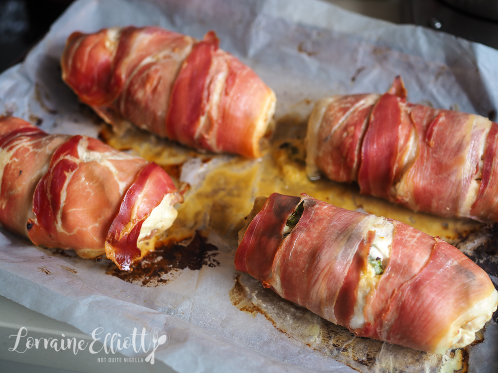 Apricot Chicken Roulade