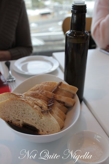 art gallery restaurant nsw, review, bread