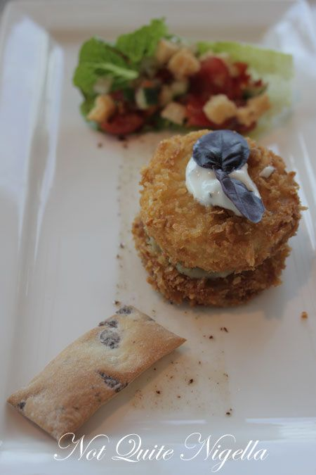 art gallery restaurant nsw, review, eggplant