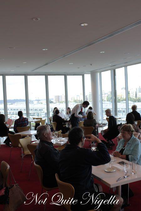 art gallery restaurant nsw, review, inside