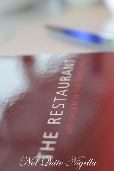 art gallery restaurant nsw, review, menu