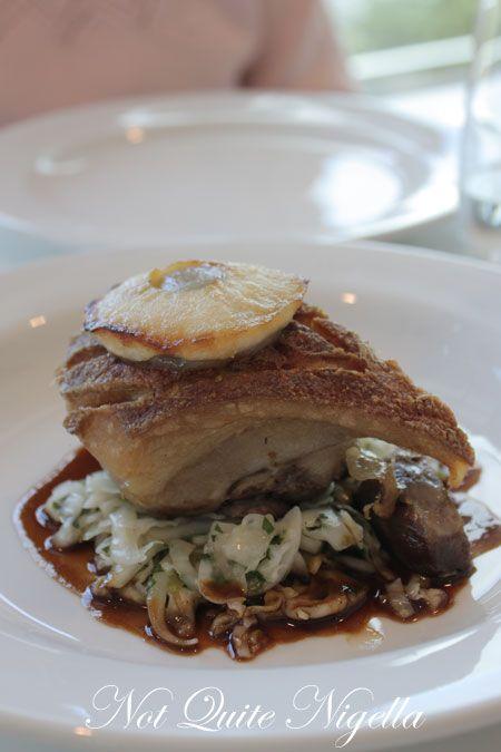 art gallery restaurant nsw, review, pork cheek