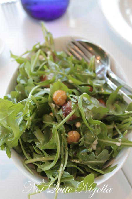 art gallery restaurant nsw, review, salad