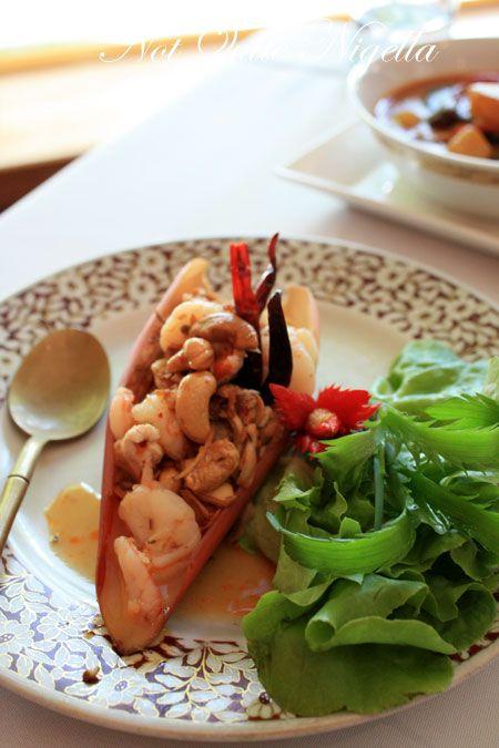 arun thai potts point banana flower salad
