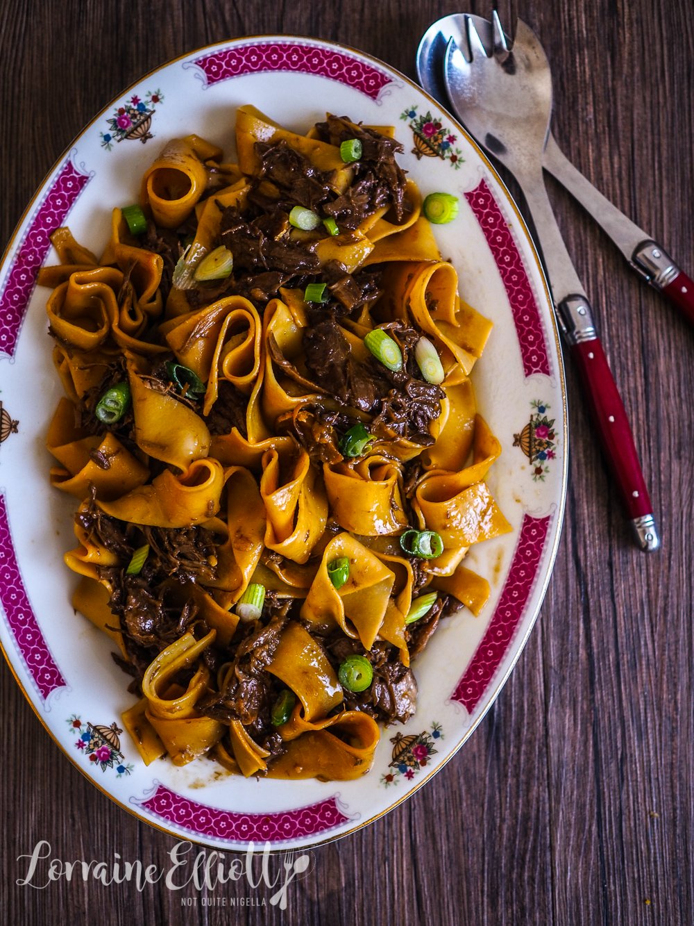 Peking Duck Ragu With Pappardelle