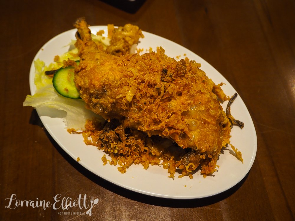 ATL Ayam Tulang Lunak Crispy Chicken Mascot