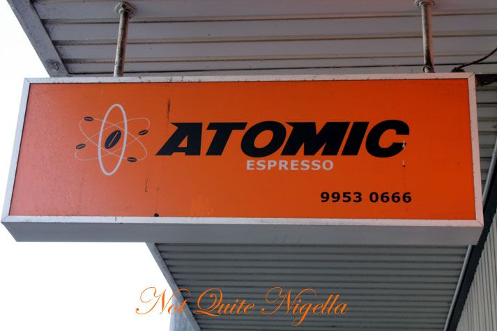 Atomic Espresso & the Limited Edition Sandwich, Neutral Bay