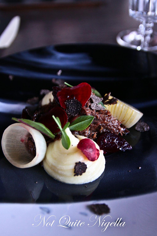 Truffles at Vue de Monde, Melbourne