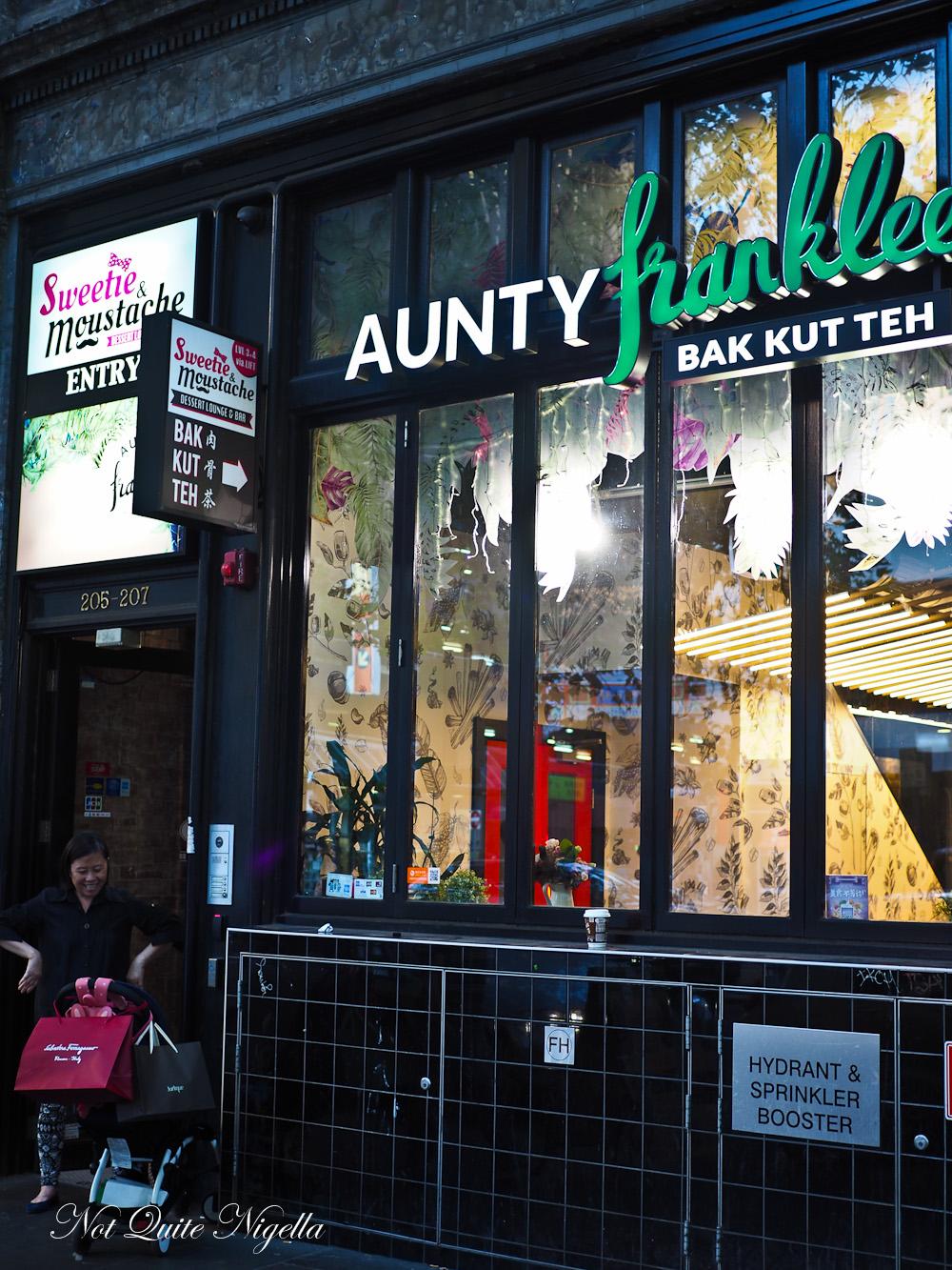 Aunty Franklee Melbourne