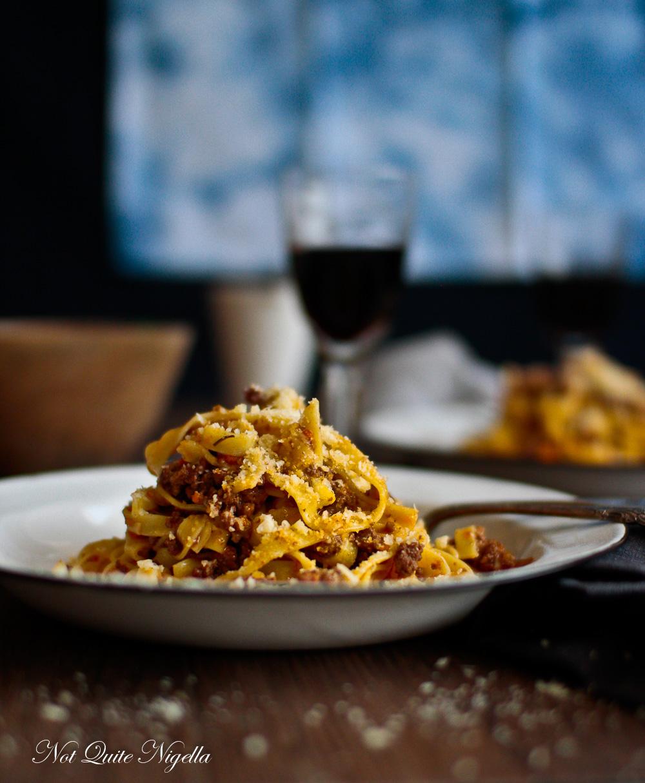 Authentic Italian Bolognese Sauce Pasta