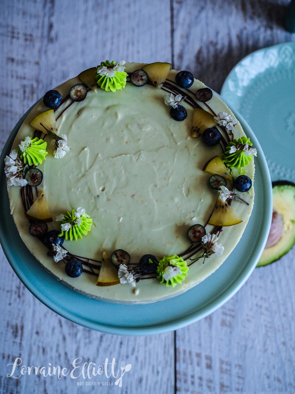 Avocado Coconut Cheesecake