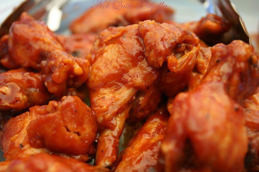 BBQ chicken wings