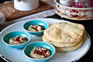 Made From Scratch: Baba Ghanoush and Pita Bread!