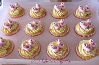 Baby Booties Cupcakes