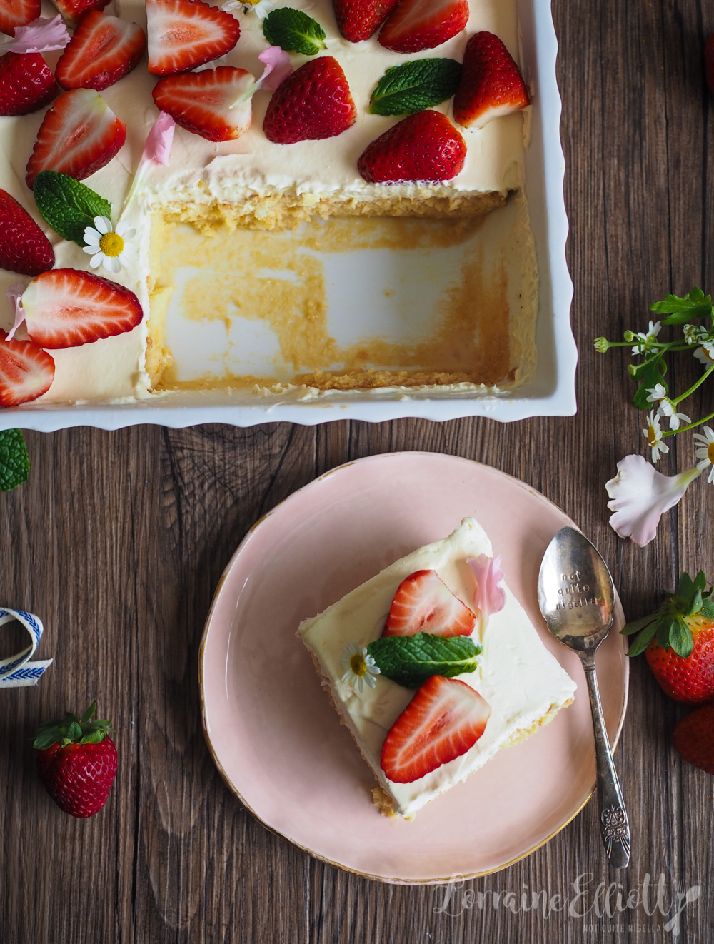Baileys Tres Leches Cake