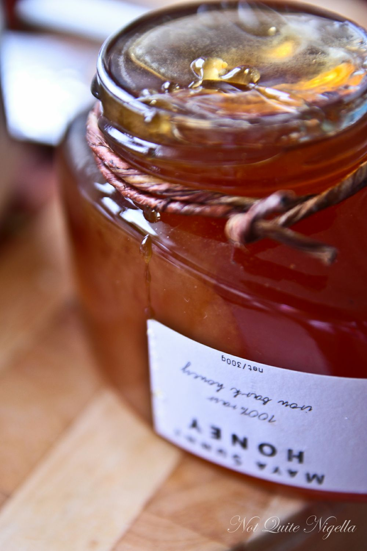 baked ricotta honey