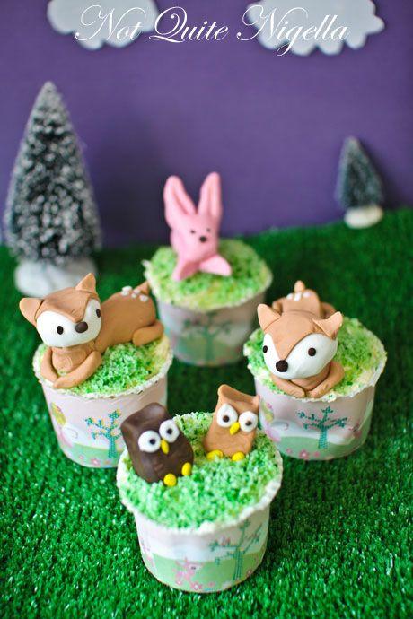 bambi cupcakes