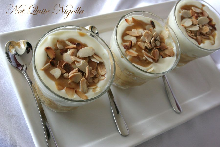 Banana Butterscotch Bannoffee trifle