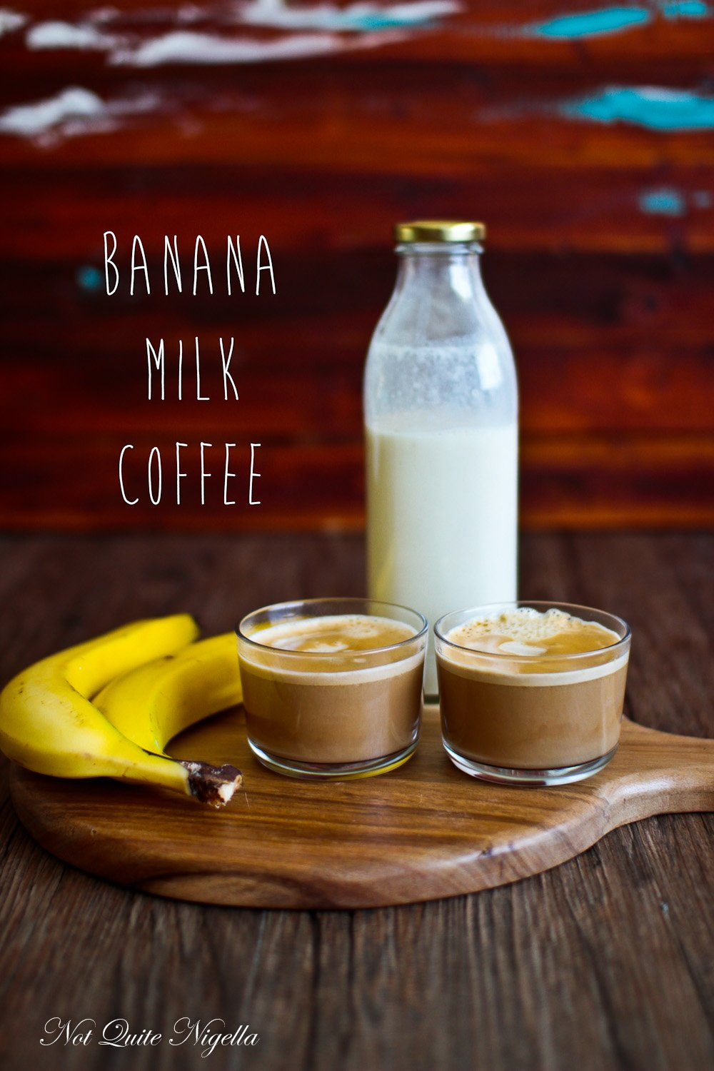 Banana Milk Coffee Tea