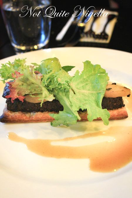 baroque bistro black pudding
