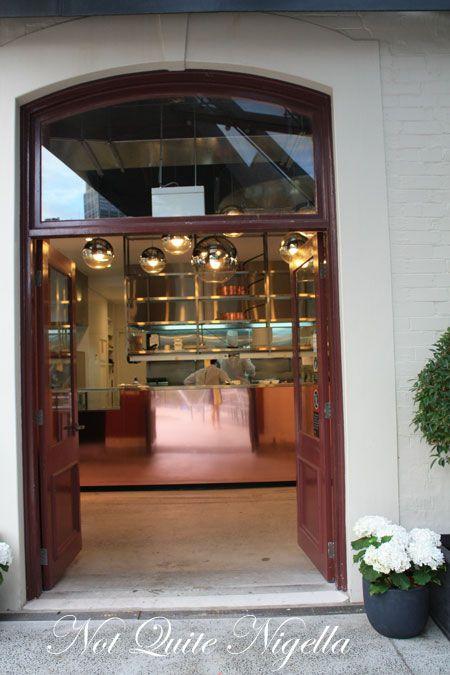 baroque bistro entrance