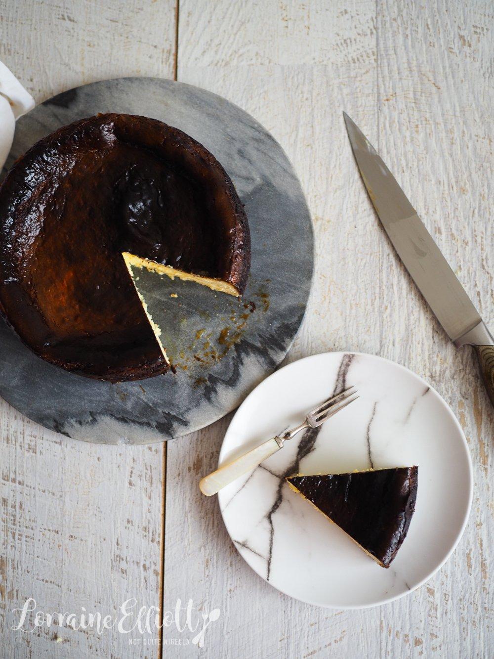 Burnt Basque Cheesecake
