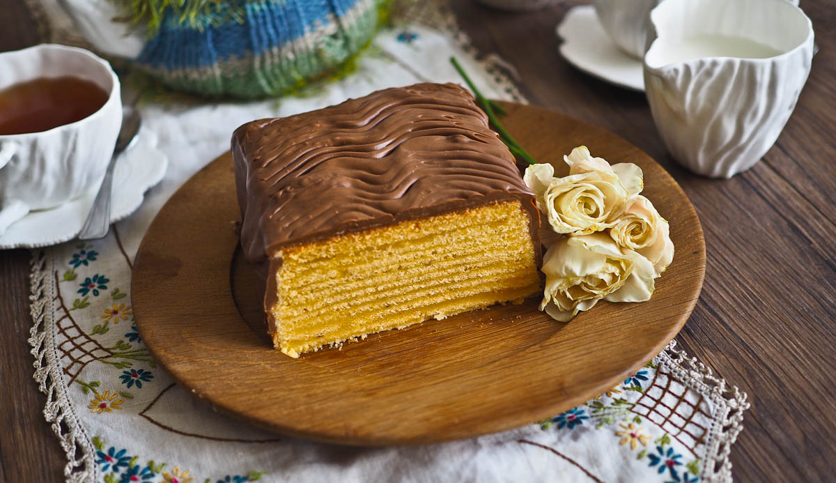 German Tree Cake Baumkuchen Recipe