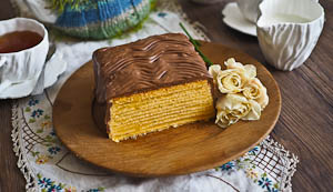 Lena, the Incredible Baumkuchen Tree Cake
