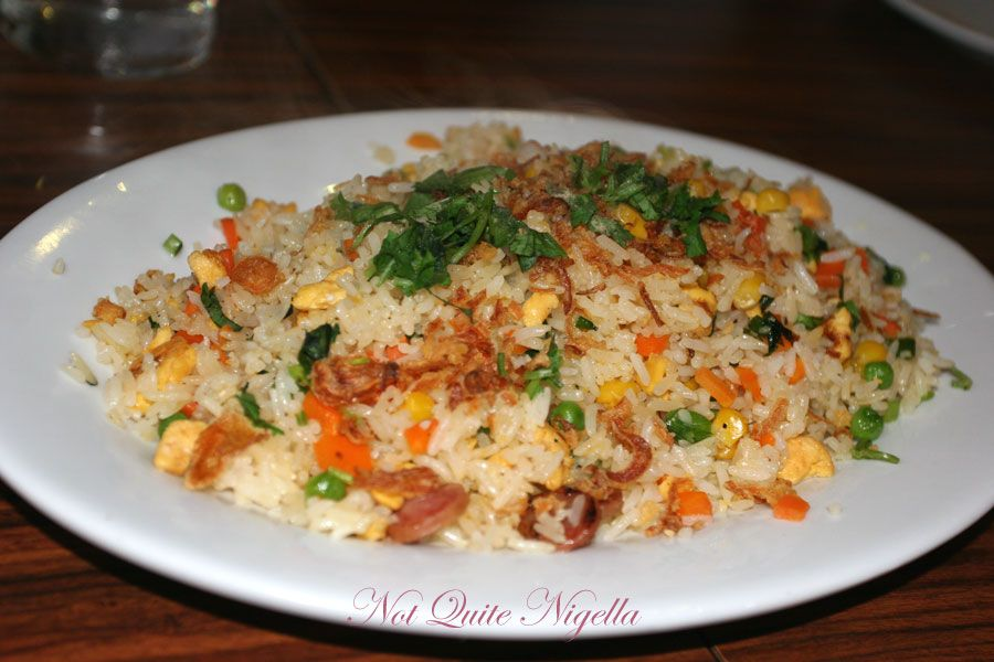 Bay Tinh at Marrickville Fried rice