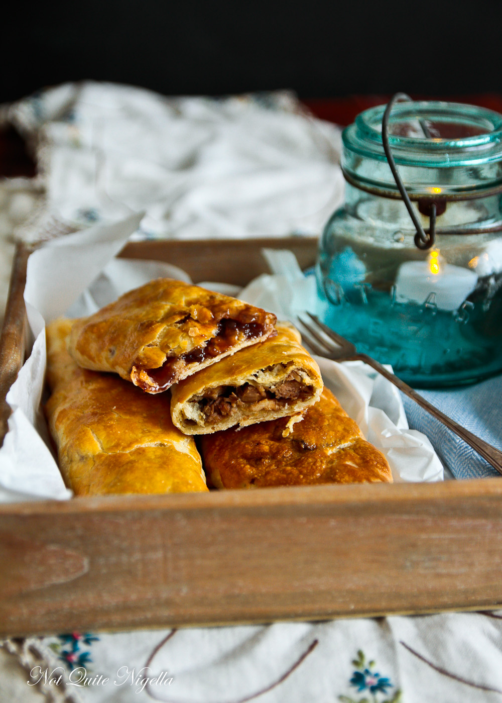 Bedfordshire Clanger Recipe @ Not Quite Nigella