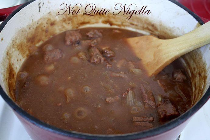 beef beer stew cooked