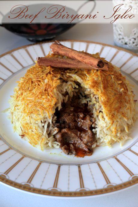 beef biryani bowl