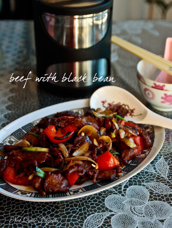 Beef Black Bean Sauce