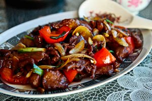 Beef in Black Bean Sauce - My Mother's Recipe