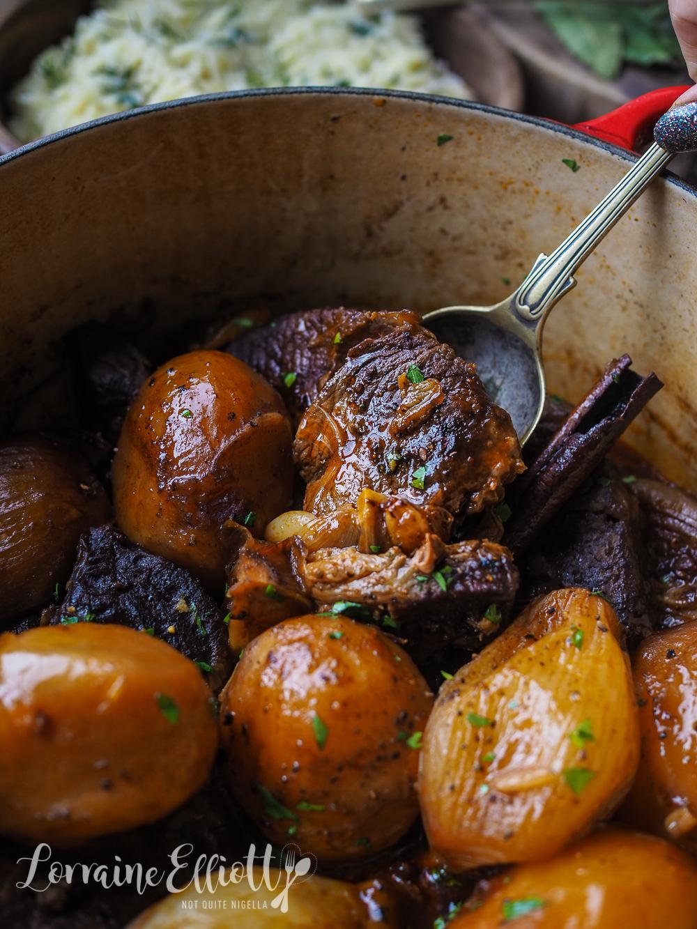 Authentic Beef Stifado Stew